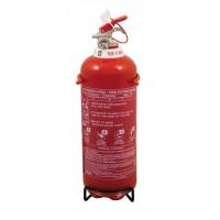 Gasilni aparat Mobiak 2kg na suh prah s kovinskim nosilcem